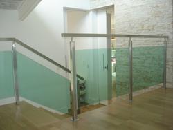 Envidraçamento de Escadas