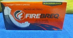 Patins de Freio Firebreq (Sapata de Freio) Biz 125/100