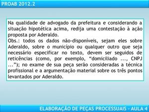 Elaboração de Peças Processuais por Advogado