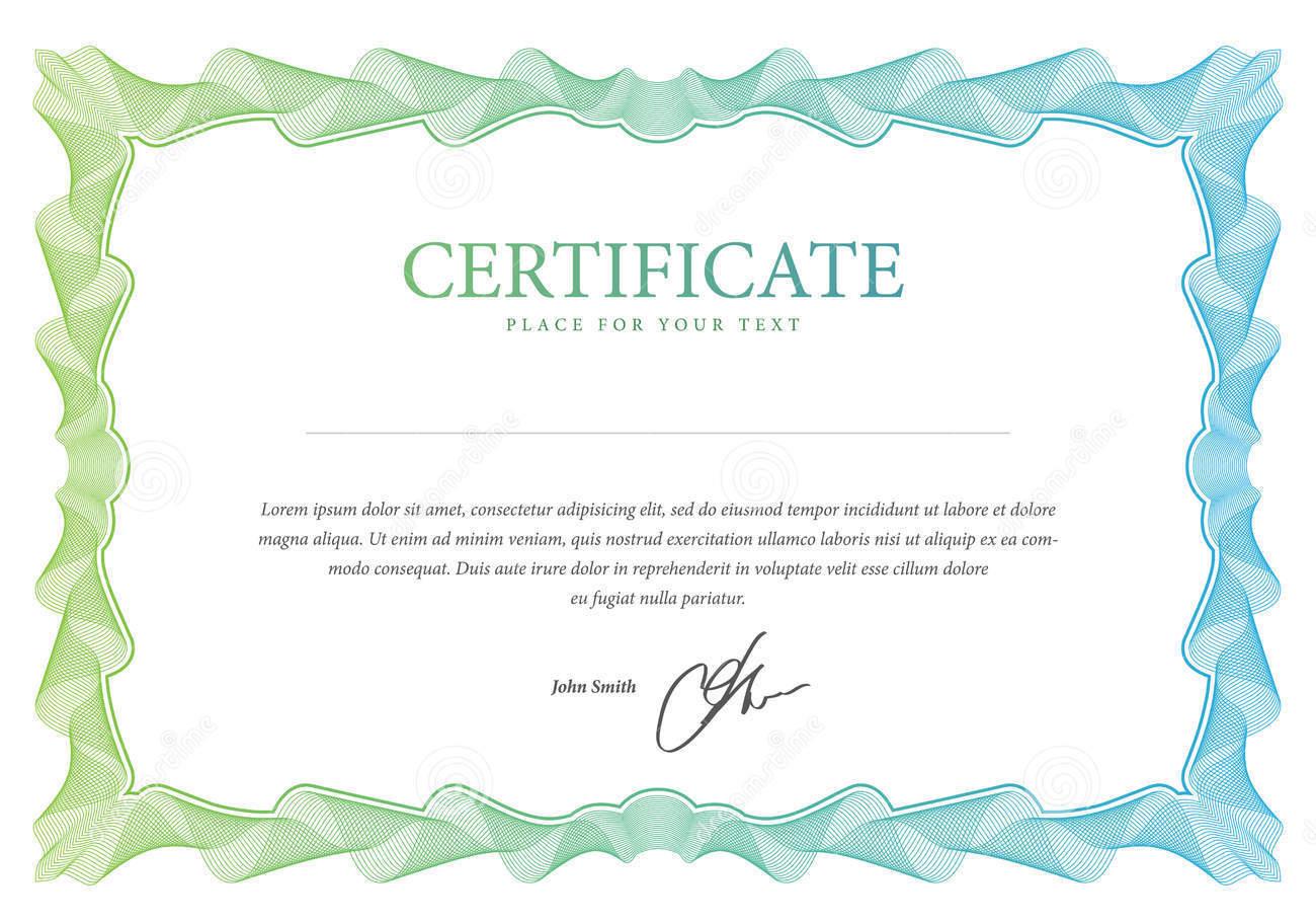 Confecção de Certificados