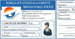Credenciais para Igrejas