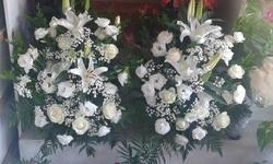 Arranjo de Flores para Batismo