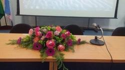 Arranjo de Flores para Púlpito