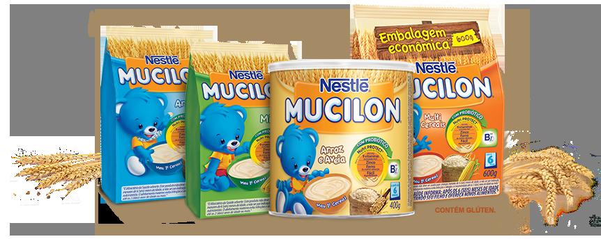Cereal Nestlé Mucilon