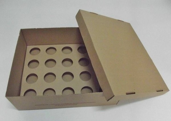 Caixa de Papelão para Cupcake