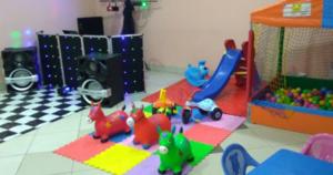 Aluguel de Pista de Dança Kids e Cantinho Baby