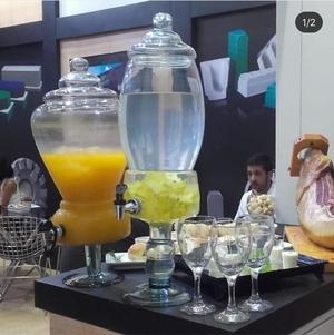 Aluguel de suqueira de vidro 7Litros